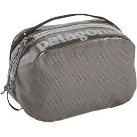 Patagonia Black Hole Cube Toiletry Bag small, hex grey